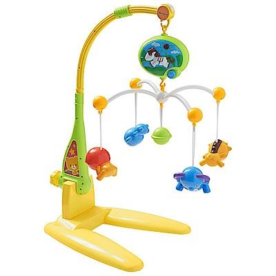 西松屋 Smart Angel 二用型可愛動物音樂吊鈴