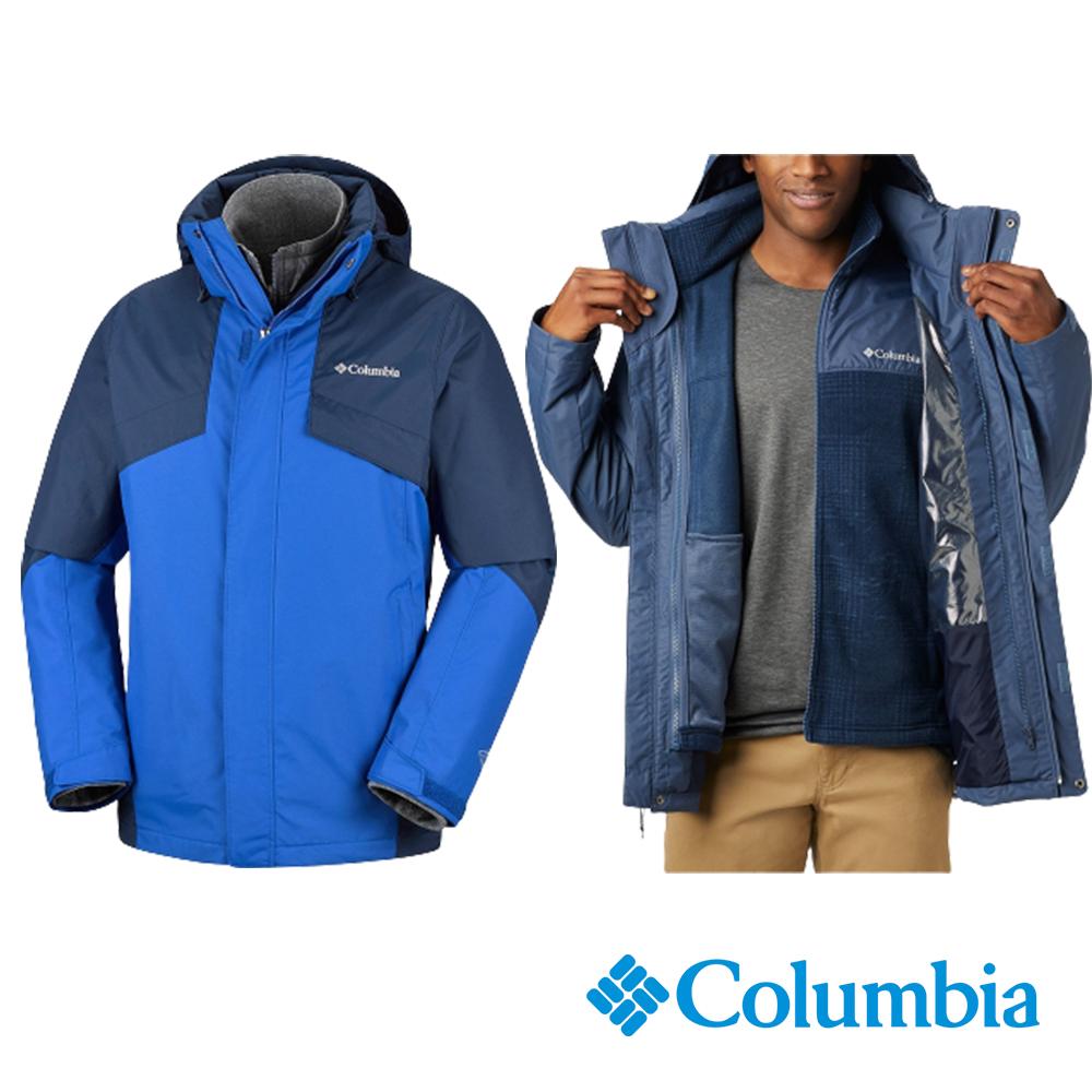 Columbia 哥倫比亞 男性 - Omni-TECH 防水透氣刷毛兩件式外套  UWE12730