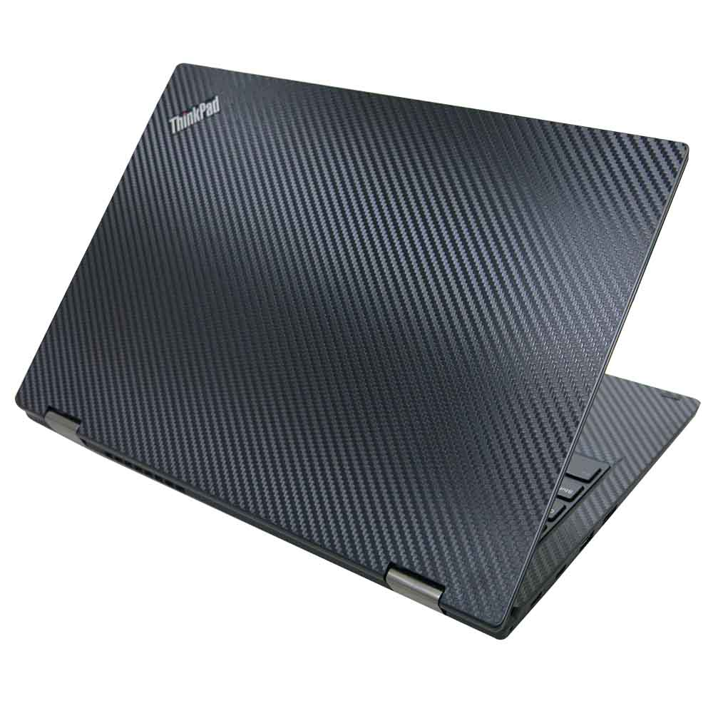 EZstick Lenovo ThinkPad L380 YOGA  黑色立體紋機身貼