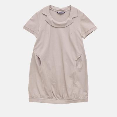 【ohoh-mini孕婦裝】獨特翻領造型孕婦洋裝