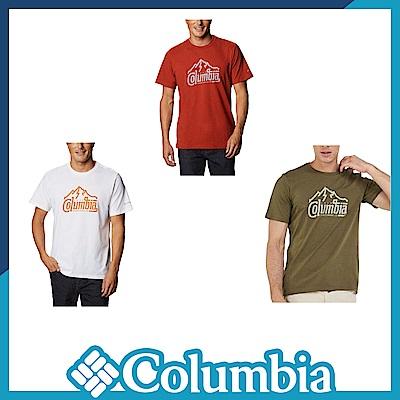 Columbia 哥倫比亞 男款- LOGO短袖上衣-3色 UAO29590