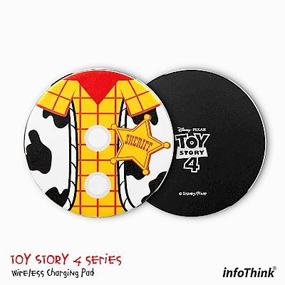 InfoThink 玩具總動員系列無線充電座 - 胡迪
