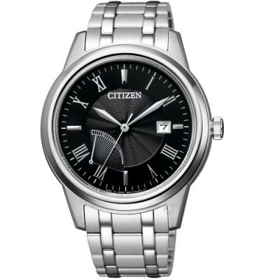 CITIZEN星辰商務雅痞光動能手錶(AW7001-98E)