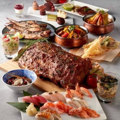 (台北)寒舍艾美酒店探索廚房假日自助午晚餐券(2張組)
