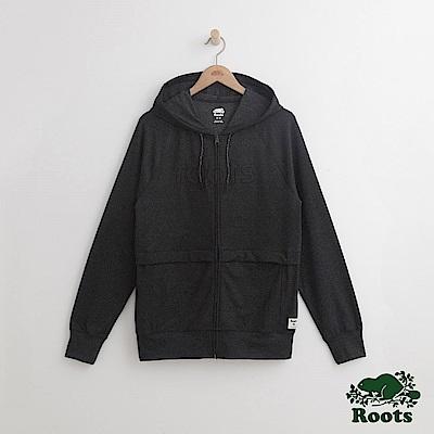 Roots 男裝-舍布魯克連帽外套-灰色