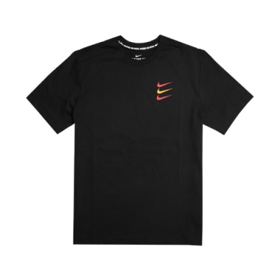 Nike T恤 FC Football T-Shirt 男款 足球 運動休閒 圓領 棉質 三勾 基本款 黑 紅 CT8432010