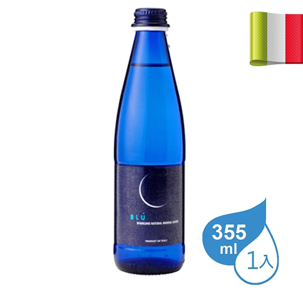 義大利 Galvanina羅馬之源氣泡礦泉水 (藍月款) 355ml