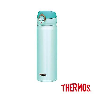THERMOS 膳魔師‧超輕量‧不鏽鋼真空保溫瓶<b>0</b>.5L-薄荷綠色 (JNL-500-MNT)