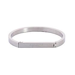 agnes b. 馬蹄型女性手環(銀)
