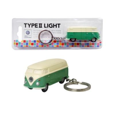 Dreams VW福斯授權LED小巴士鑰匙圈- 綠