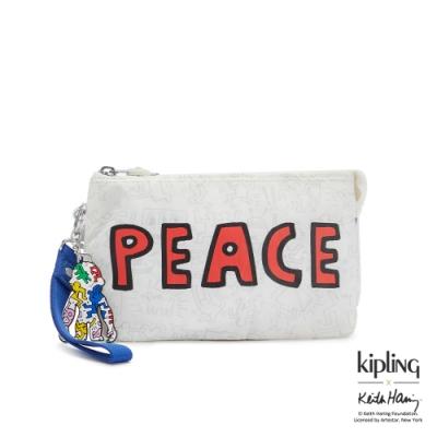 Kipling x Keith Haring 限量聯名系列街頭塗鴉多層配件包-CREATIVITY XL