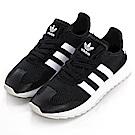 ADIDAS-FLB W女慢跑鞋BB5323-黑