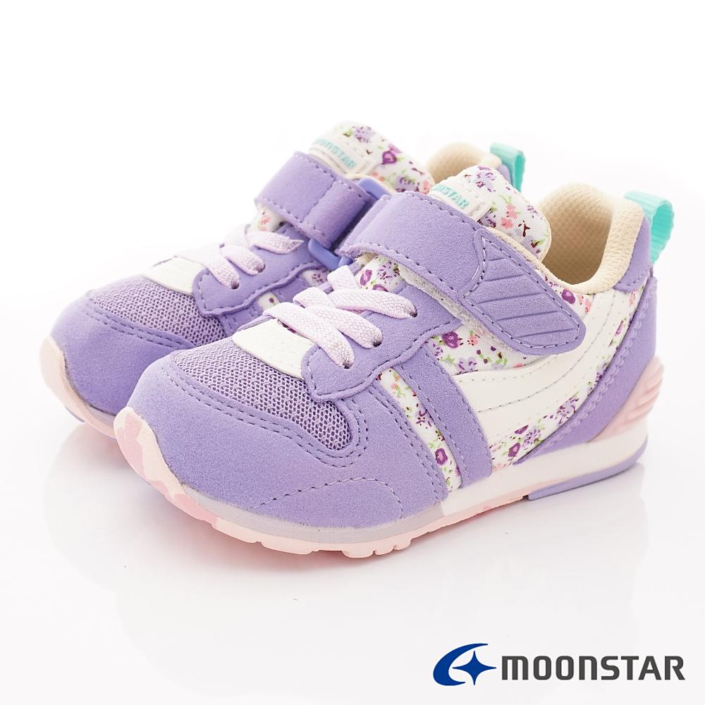 日本月星頂級童鞋 HI系列2E機能款 TW121S29紫(中小童段)