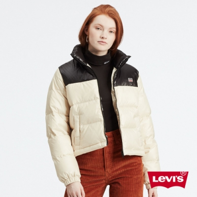 Levis 女款 羽絨外套 中短版 600FP 百分之80 灰鴨絨填充