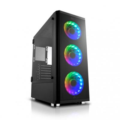 技嘉B360平台[風雪少校]i7八核GTX1650獨顯電玩機