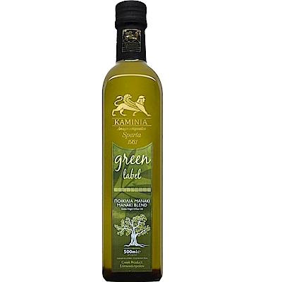 卡米尼KAMINIA綠標 麻尼亞齊早熟成特級初榨橄欖油(500ml/瓶;原產希臘)