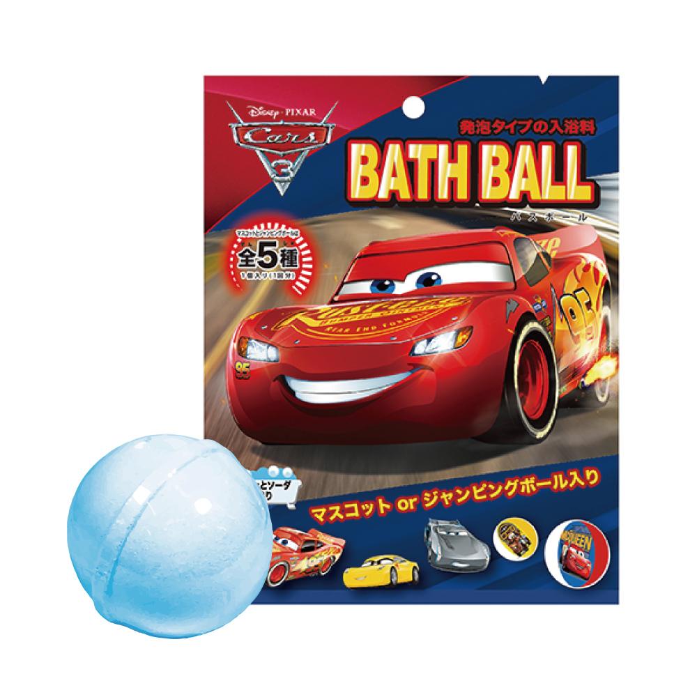 日本NOL-CARS汽車總動員3泡澡球: 閃電再起1入(附可愛公仔/聖誕禮物/交換禮物/泡澡)
