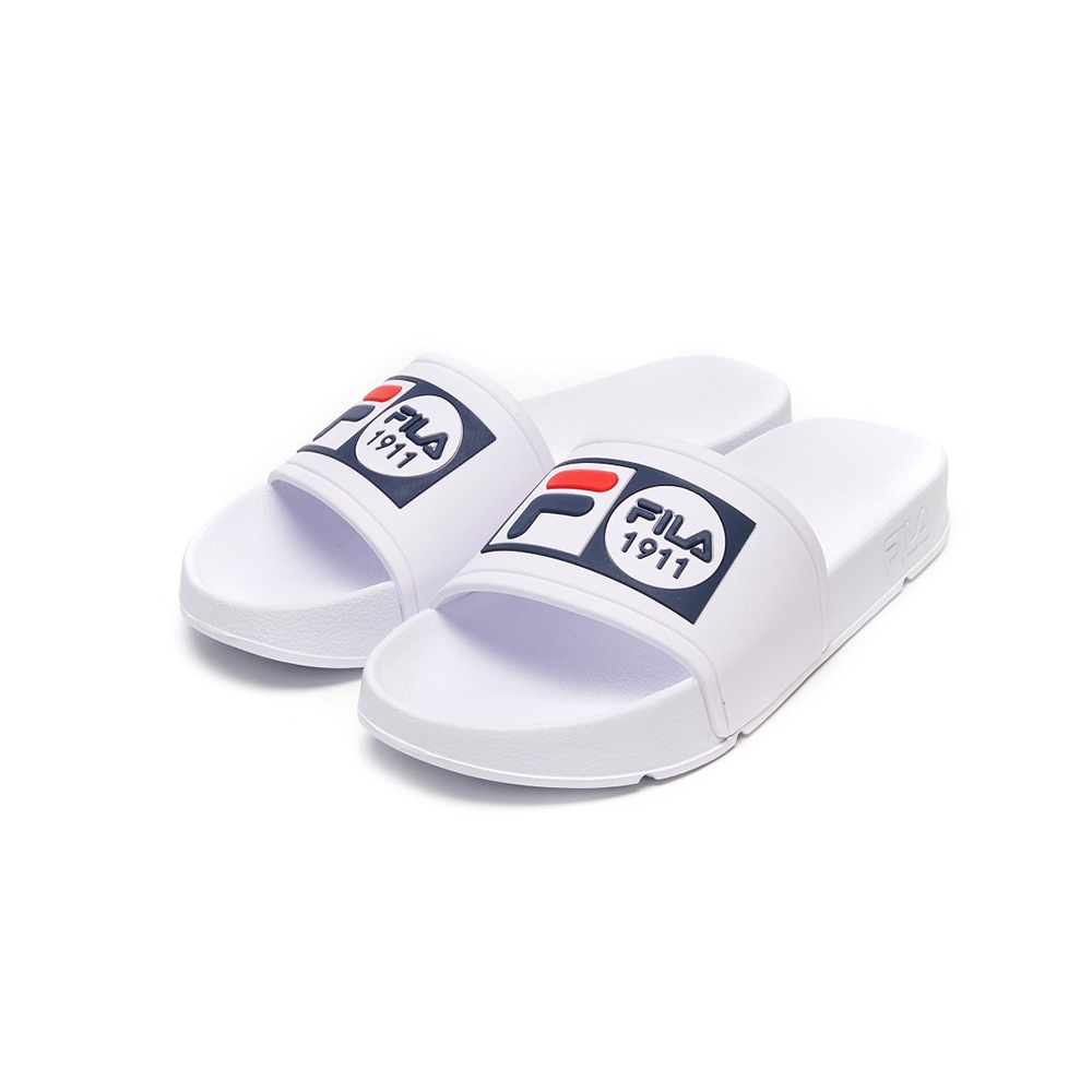 FILA POP SLIDE 男/女拖鞋-白 4-S351V-111