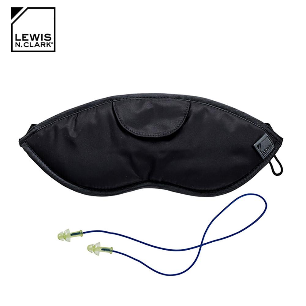 Lewis N. Clark 旅行眼罩有線耳塞組 503 / 黑色