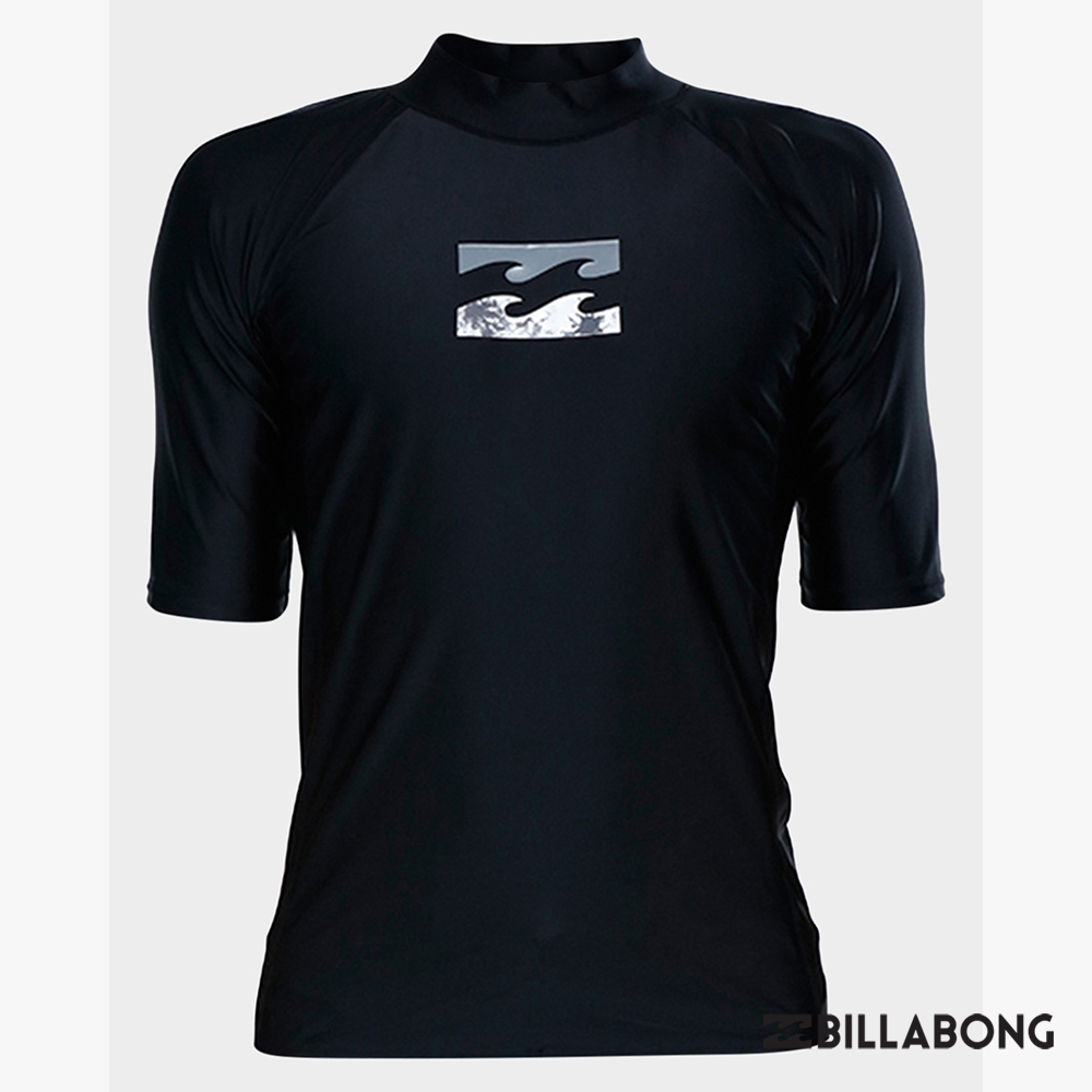 BILLABONG-ALL DAY WAVE PF SS短袖防磨衣-黑
