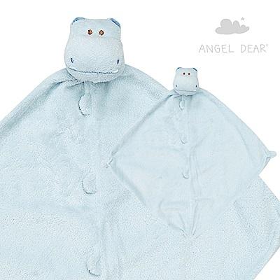 Angel Dear 動物嬰兒安撫巾 (藍色河馬)