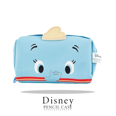 迪士尼 Disney 造型萬用收納包 筆袋 化妝包=小飛象