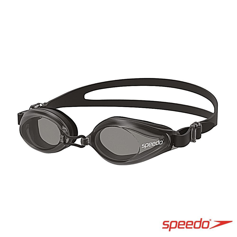 SPEEDO 成人泳鏡 Edge 黑/灰