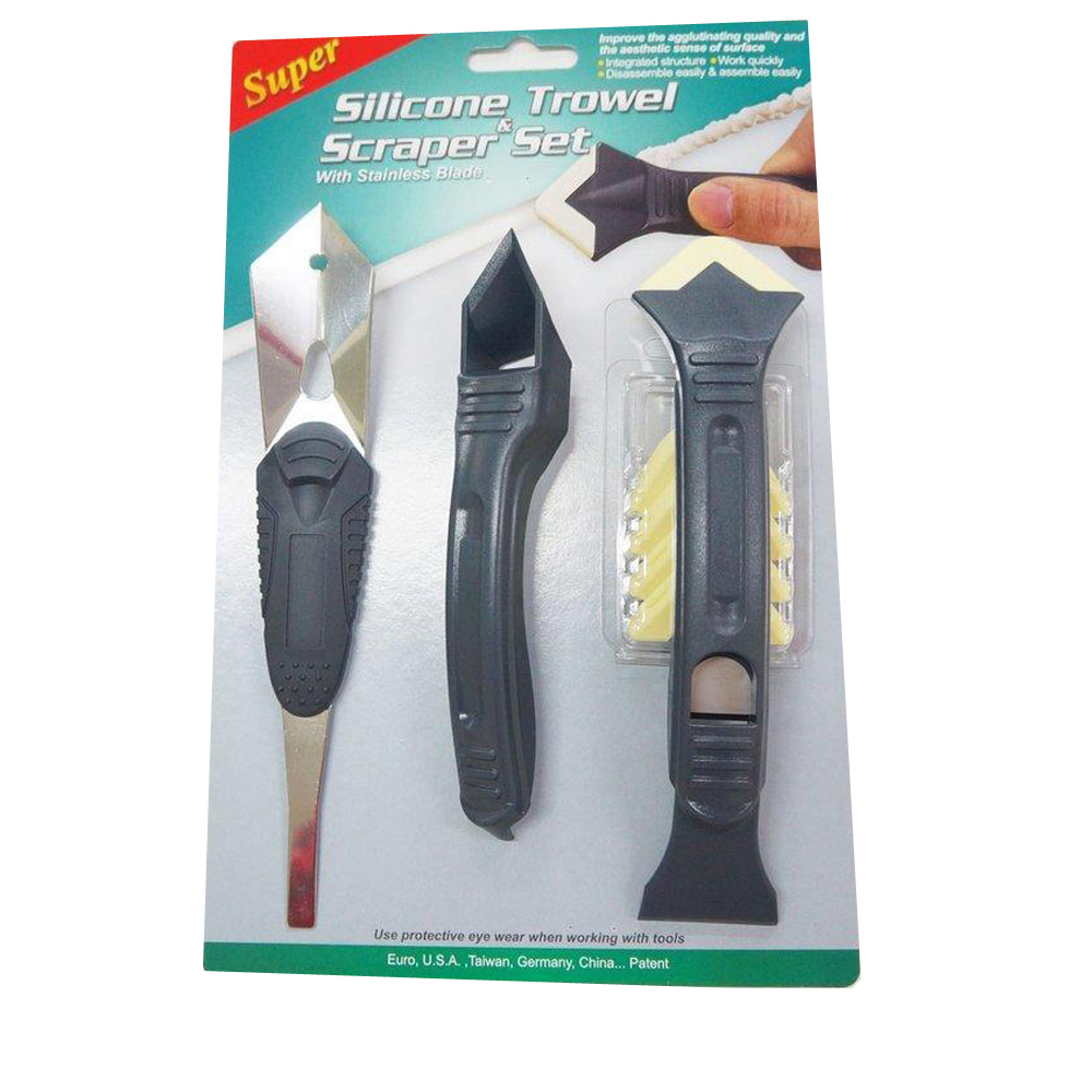 PW133 臺灣製 矽利康刮刀工具/邊刀/錐型刀/刮刀