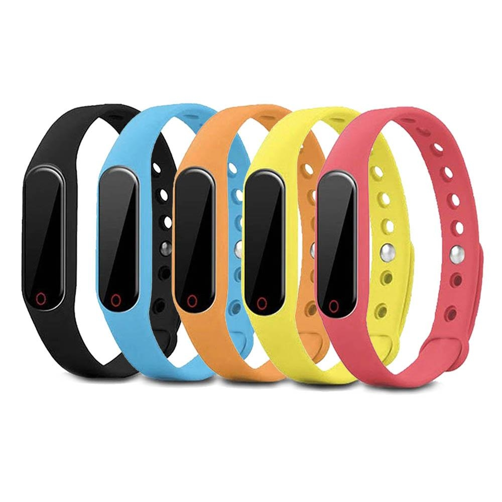 W5 觸控多功能藍牙心率手環 (隨機色)