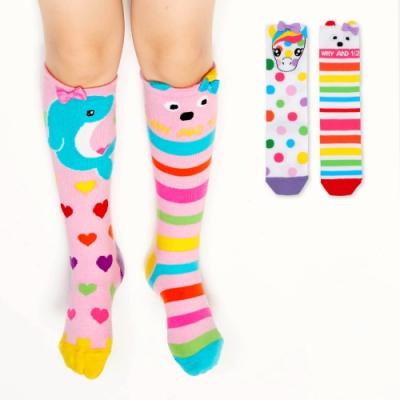 WHY AND 1/2 造型長筒襪 多色可選