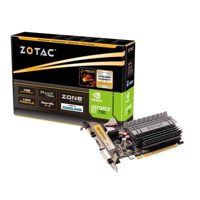 ZOTAC索泰 GeForce GT 730 2GB Zone Edition 顯示卡