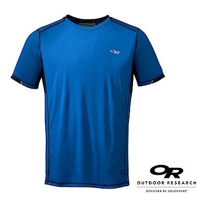 Outdoor Research 男 OCTANE 輕量快乾抗菌短袖排汗衫_藍