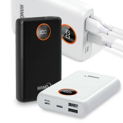 HANG 數顯13000型 PD快充+QC4.0 3A雙向快充 行動電源 Max 20.5W PD2
