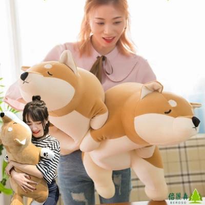 【倍麗森Beroso】買大送小-日系柔軟柴柴犬抱枕玩偶 BE-B00007-3