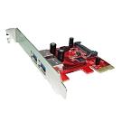 Awesome PCIe 2埠 USB 3.0 擴充卡 - AWD-UB-108-2