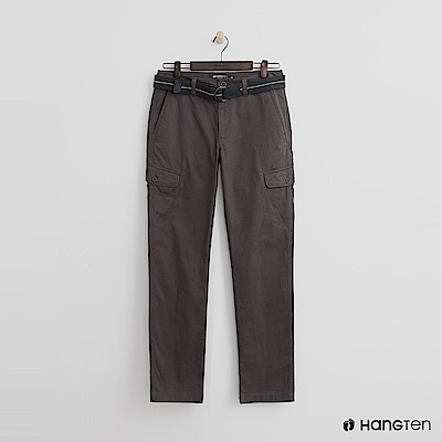 Hang Ten - 男裝 - 口袋造型休閒褲 - 綠