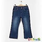 bossini女童-舒適牛仔褲01靛藍