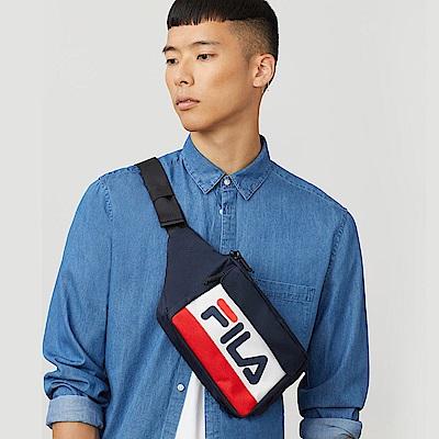FILA 小型腰包-紅藍白 BWT-5002-NV