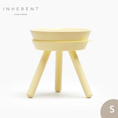 韓國Inherent Oreo 寵物高腳碗 寵物碗 寵物碗架 狗碗 S 檸檬黃
