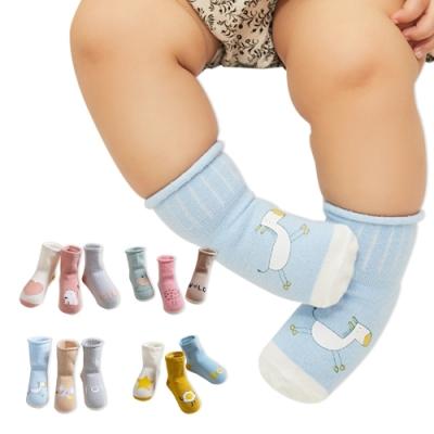 JoyNa-9雙入 童襪短襪地板襪卡通鬆口兒童印花襪