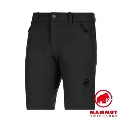 【Mammut】Hiking Shorts 經典健行短褲 黑色 男款 #1023-00120