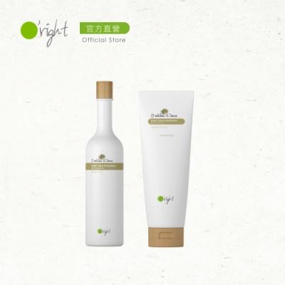 O right 歐萊德 洗護保養組-香檳玫瑰洗髮精400ml+護髮素250ml