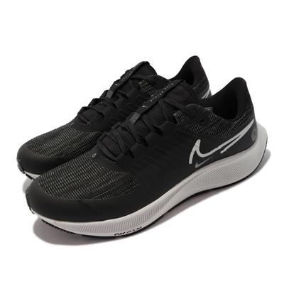 Nike 慢跑鞋 Pegasus 38 Shield 男鞋 氣墊 避震 防水 包覆 運動 球鞋 黑 灰 DC4073-001