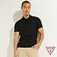 GUESS-男裝-LOGO字母POLO衫短袖T恤-黑 原價1690 product thumbnail 1