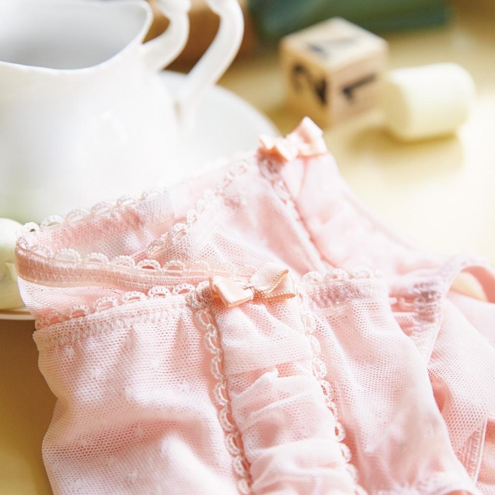 蕾黛絲-瘦型小妹大搭配平口內褲 L-EEL 鳳仙粉