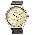 CITIZEN 星辰 紳仕氣度鈦金屬機械男錶(NJ0090-13P)