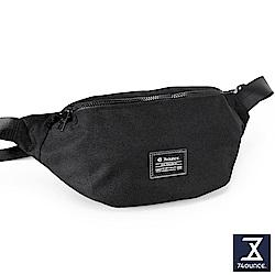 74盎司 Life 簡約設計尼龍胸包[G-1033-LI-M]黑