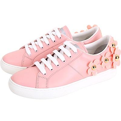 MARC JACOBS Daisy 經典立體雛菊裝飾繫帶休閒鞋(粉色)