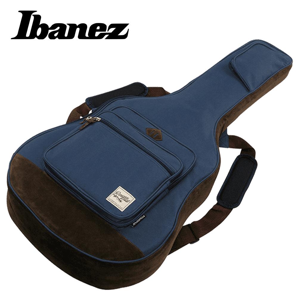 IBANEZ IAB541 NB 民謠木吉他專用袋 設計師款 海軍藍