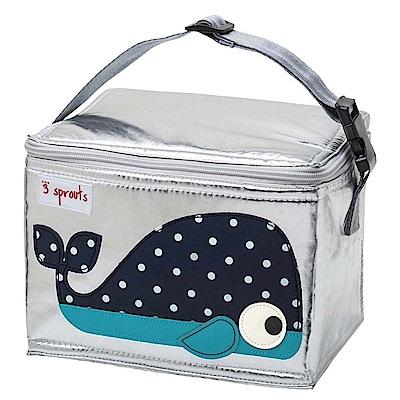 加拿大 3 Sprouts 保冷保溫手提袋 - 小鯨魚 保冷袋 保溫袋 便當袋